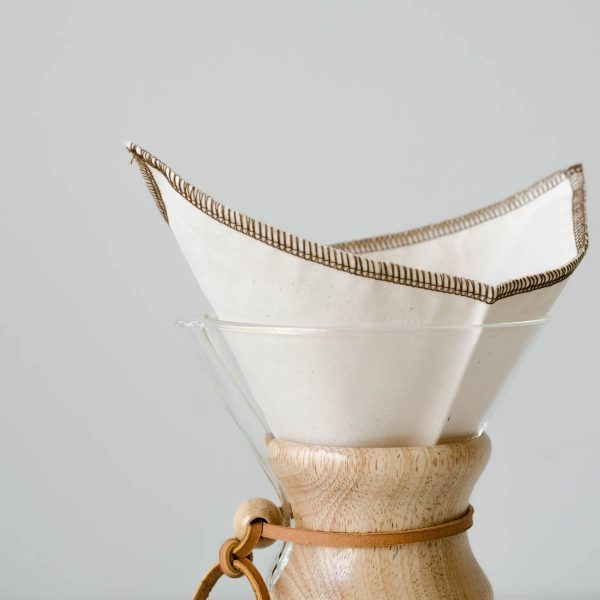 coffee sock cloth Chemex filter