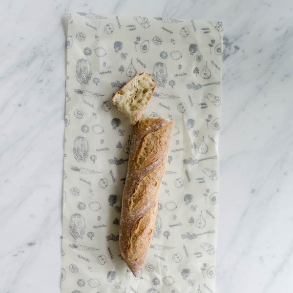 abeego beeswax food wrap - giant