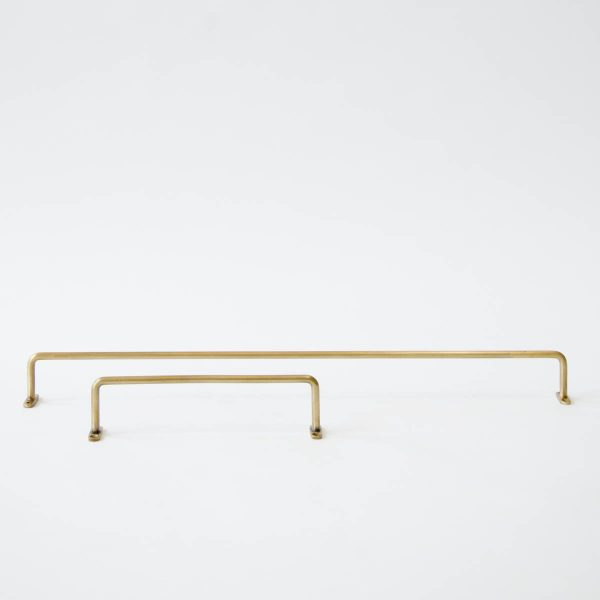 brass towel bar - two sizes