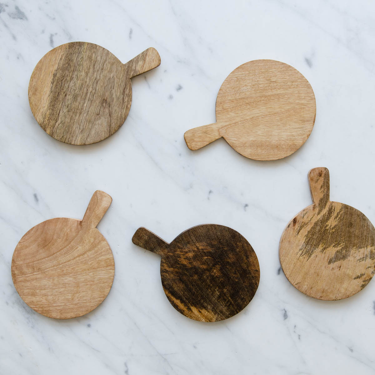 mini wood serving boards
