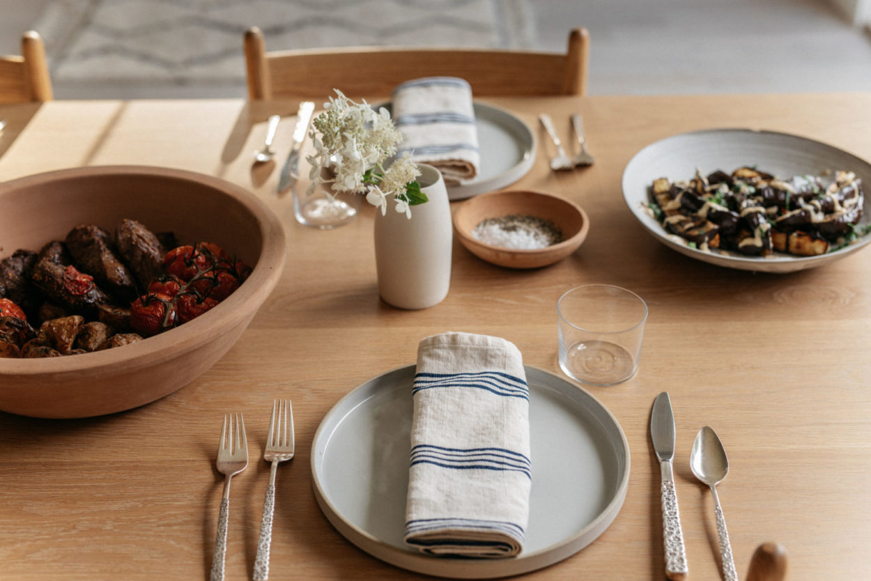 Summer Serveware for Small Gatherings