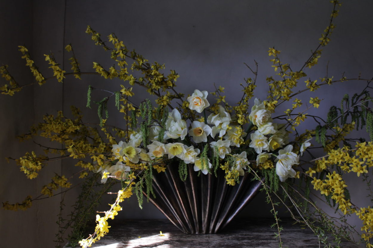 welcoming spring: a guide to arranging florals with Bess Piergrossi