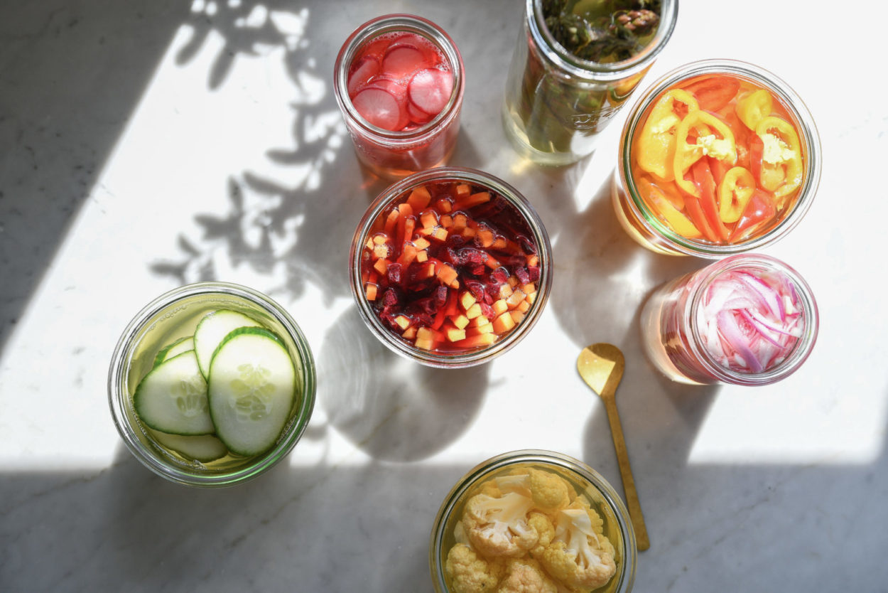 recipe: the easiest homemade pickles you won't wait to try