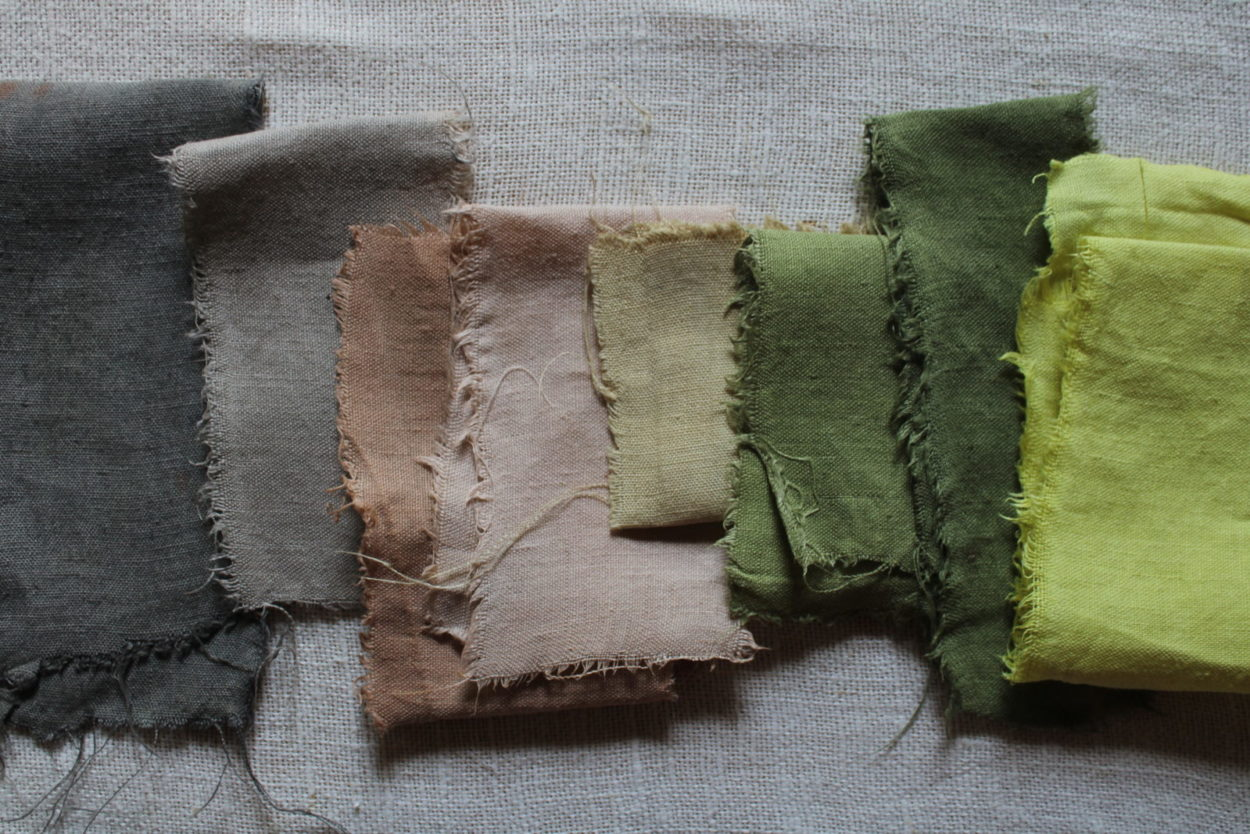 homemade natural dyes with bess piergrossi